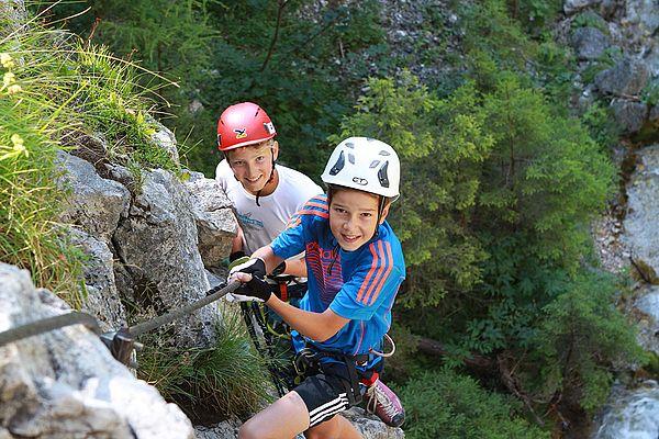Kletterurlaub in der Steiermark