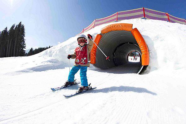 Skifahren mit Kindern in Schladming