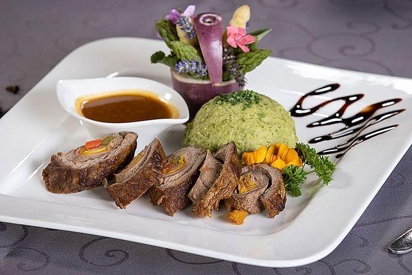 Speisen Restaurant Hotel Reiter