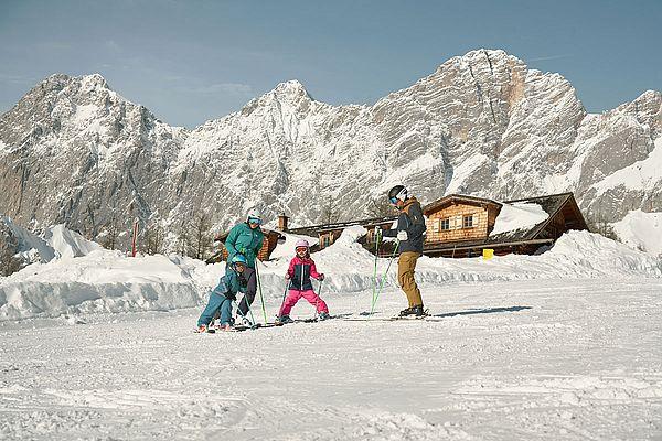 Familienurlaub im Winter