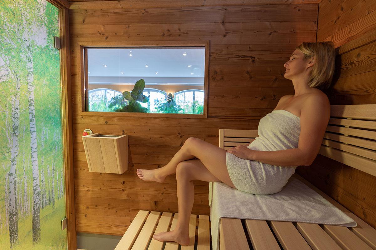 Sauna & Infrarotkabine Hotel Reiter